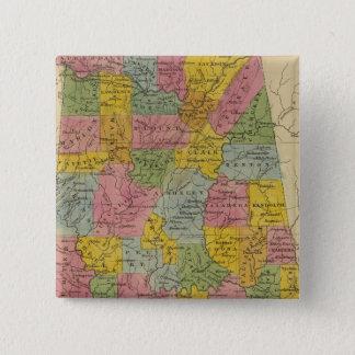 Alabama 15 Cm Square Badge