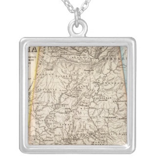 Alabama 2 silver plated necklace