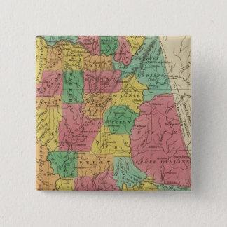 Alabama 3 15 cm square badge