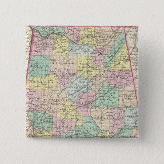 Alabama 5 15 cm square badge