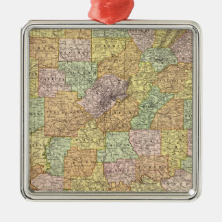Alabama 5 christmas ornament
