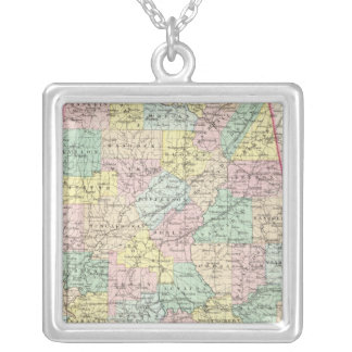 Alabama 5 silver plated necklace