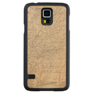 Alabama 6 carved maple galaxy s5 case
