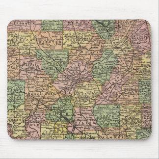 Alabama 7 mouse mat