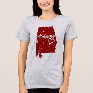 Alabama AL State Love Distressed Vintage t-shirt