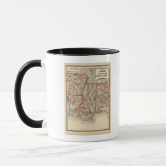 Alabama, Arkansas, Louisiana, and Mississippi Mug