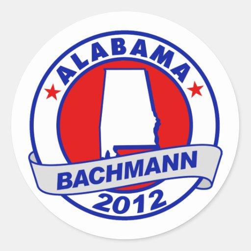 Alabama Bachman Stickers