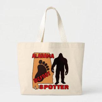 Alabama Bigfoot Spotter Large Tote Bag