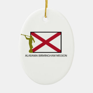 ALABAMA BIRMINGHAM MISSION LDS CTR CHRISTMAS ORNAMENT