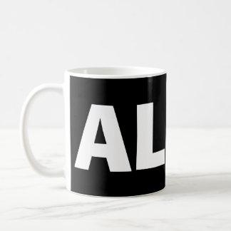 Alabama* Black Mug