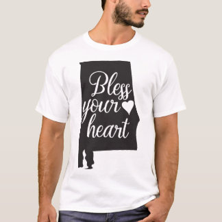 Alabama Bless Your Heart Tshirt