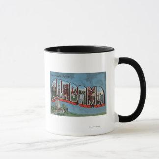 Alabama (Blue)Large Letter ScenesAlabama Mug