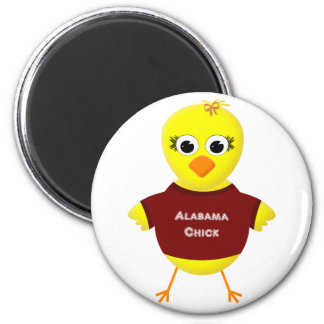Alabama Chick Cute Cartoon Chicken Magnet