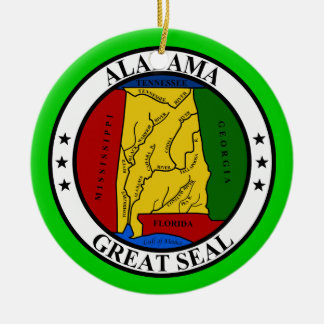 Alabama* Christmas Ornament* Christmas Ornament