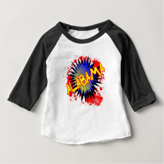Alabama Comic Exclamation Baby T-Shirt