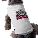 Alabama Crimson Tide Big Al Sleeveless Dog Shirt