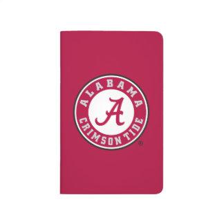 Alabama Crimson Tide Circle  Journals