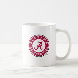 Alabama Crimson Tide Circle  Basic White Mug