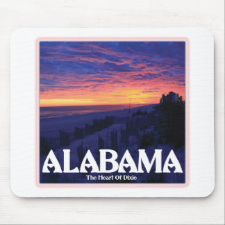 Alabama Dark Sunset Mouse Pad