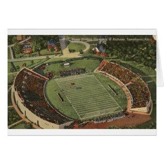 Alabama Denny Stadium Vintage Postcard