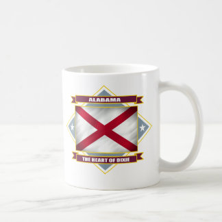 Alabama Diamond Coffee Mug