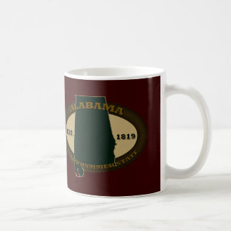 Alabama Est. 1819 Coffee Mugs