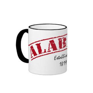 Alabama Established Ringer Mug