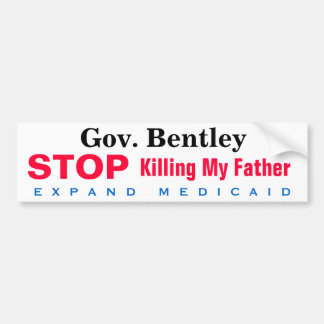 Alabama Expand Medicaid Father Bumper Sticker