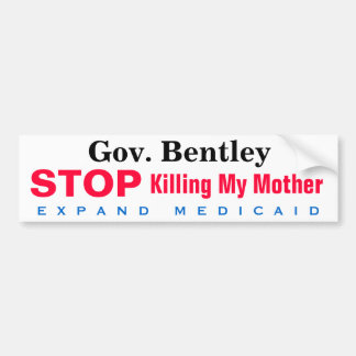 Alabama Expand Medicaid Mother Bumper Sticker