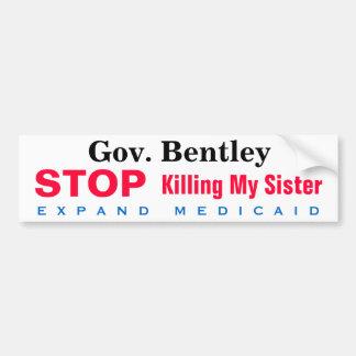 Alabama Expand Medicaid Sister Bumper Sticker