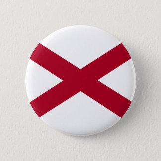 Alabama Flag 6 Cm Round Badge