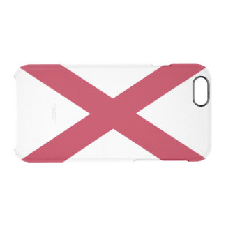 Alabama flag clear iPhone 6/6S case