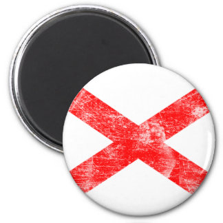 Alabama Flag (Distressed) Magnet