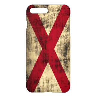 Alabama Flag Grunge iPhone 7 Plus Case