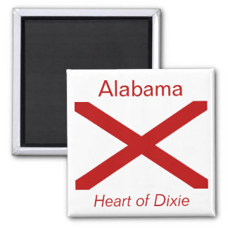 Alabama Flag Magnet