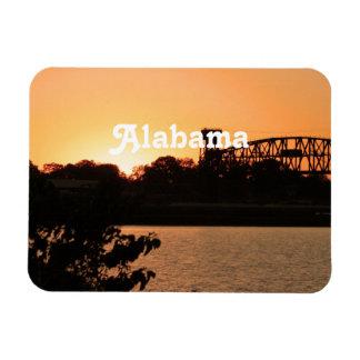 Alabama Vinyl Magnet