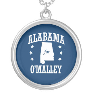 ALABAMA FOR O'MALLEY ROUND PENDANT NECKLACE