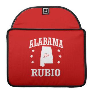 ALABAMA FOR RUBIO MacBook PRO SLEEVE