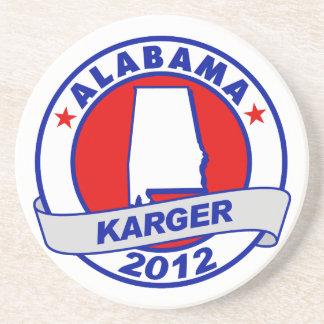 Alabama Fred Karger Coaster