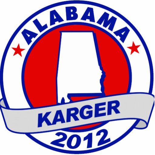 Alabama Fred Karger Photo Cut Out