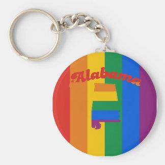 ALABAMA GAY PRIDE KEY CHAIN
