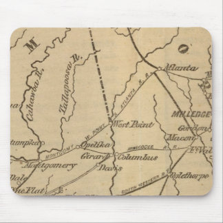Alabama, Georgia, Florida Mouse Mat
