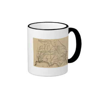Alabama, Georgia, Florida Coffee Mugs