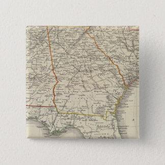 Alabama, Georgia, South Carolina, and Florida 15 Cm Square Badge