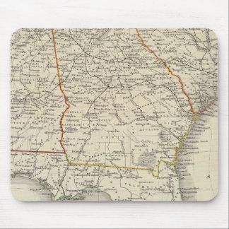 Alabama, Georgia, South Carolina, and Florida Mouse Pad
