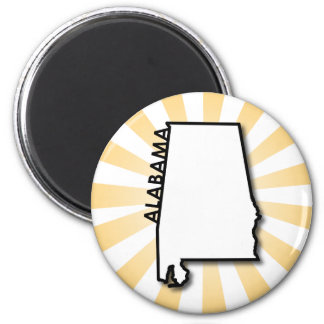 Alabama Gold Burst Magnet