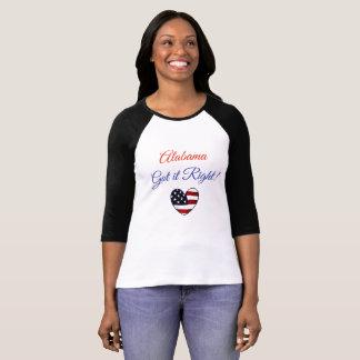 Alabama Got it Right, Moore Jones Election T-Shirt