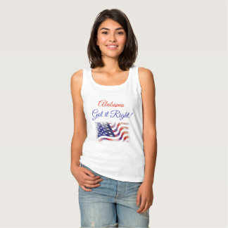 Alabama Got it Right, Moore Jones Election Tank Top