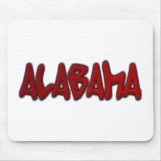 Alabama Graffiti Mouse Pads