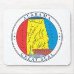 Alabama great seal mousepad